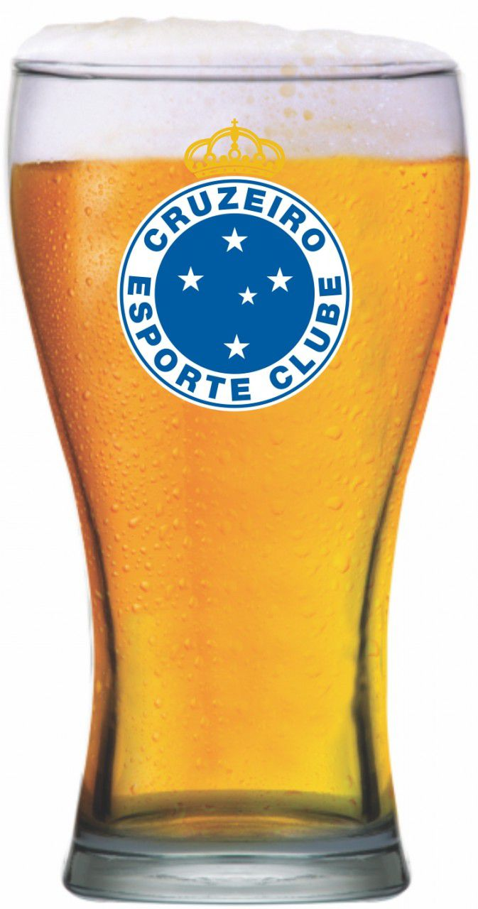 Copo shape Cruzeiro Brasão -470 ml