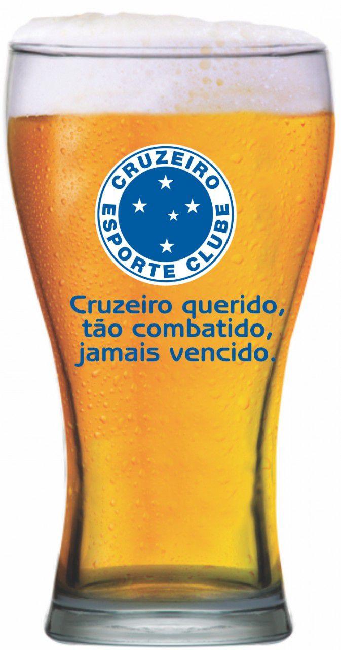 Copo shape Cruzeiro -Torcida-470 ml