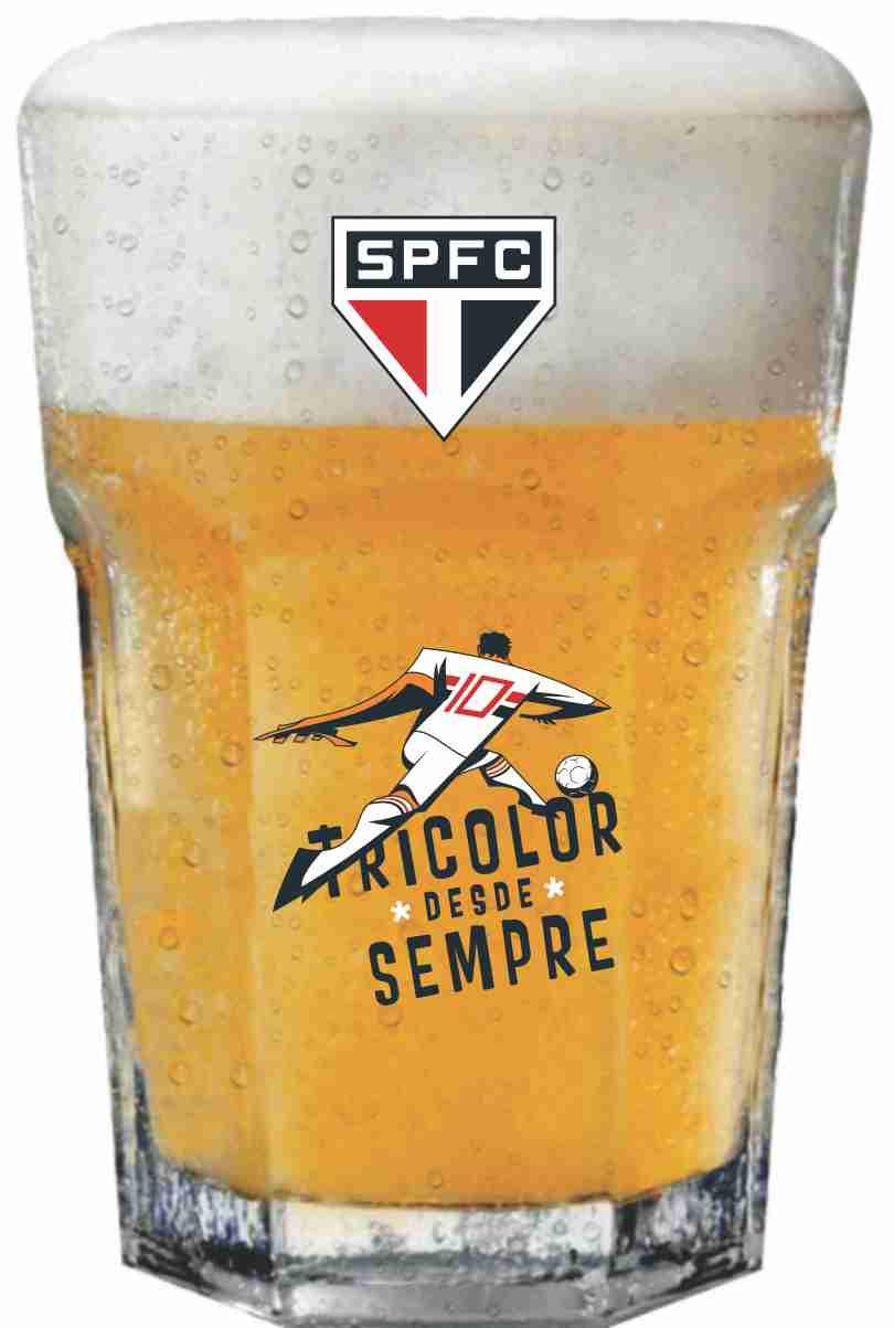 Copo Country São Paulo Jogador - 400 ml
