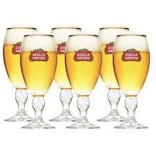 Taças Stella Artois 250ml Kit c/6