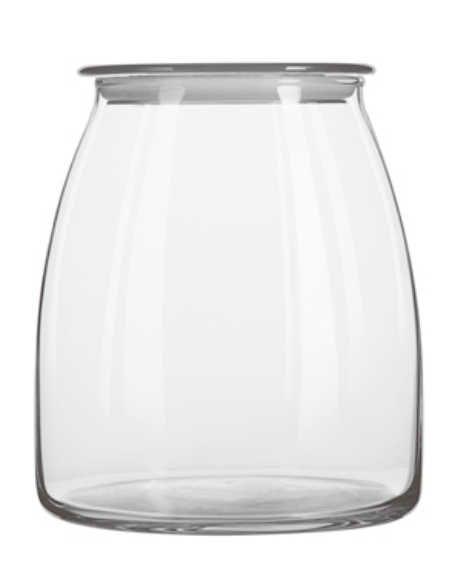 Pote Vibe 1 litro c/tampa transparente