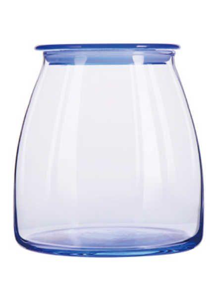 Pote Vibe 1 litro c/tampa Azul