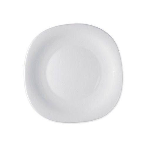 Prato Raso Vidro Parma Bormioli Branco 27cm - 1 unidade