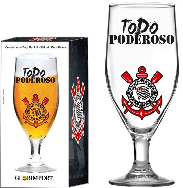 Taça Dunkel Corinthians Poderoso 380 - ml