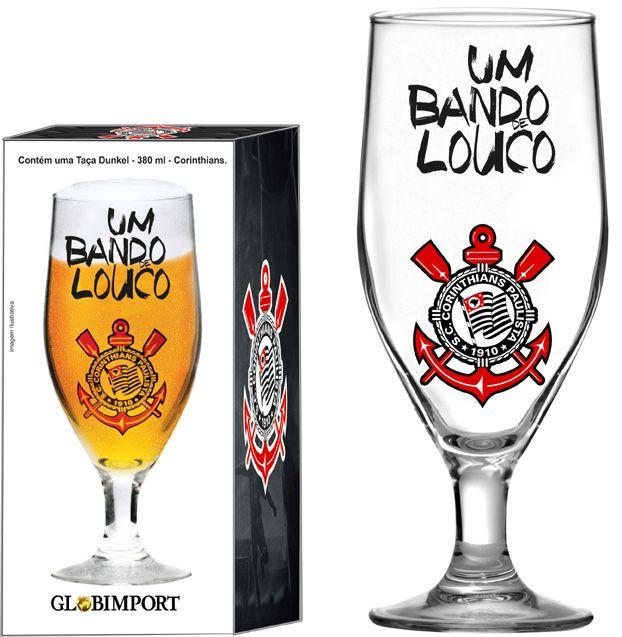 Taça Dunkel Corinthians Bando - 380 ml