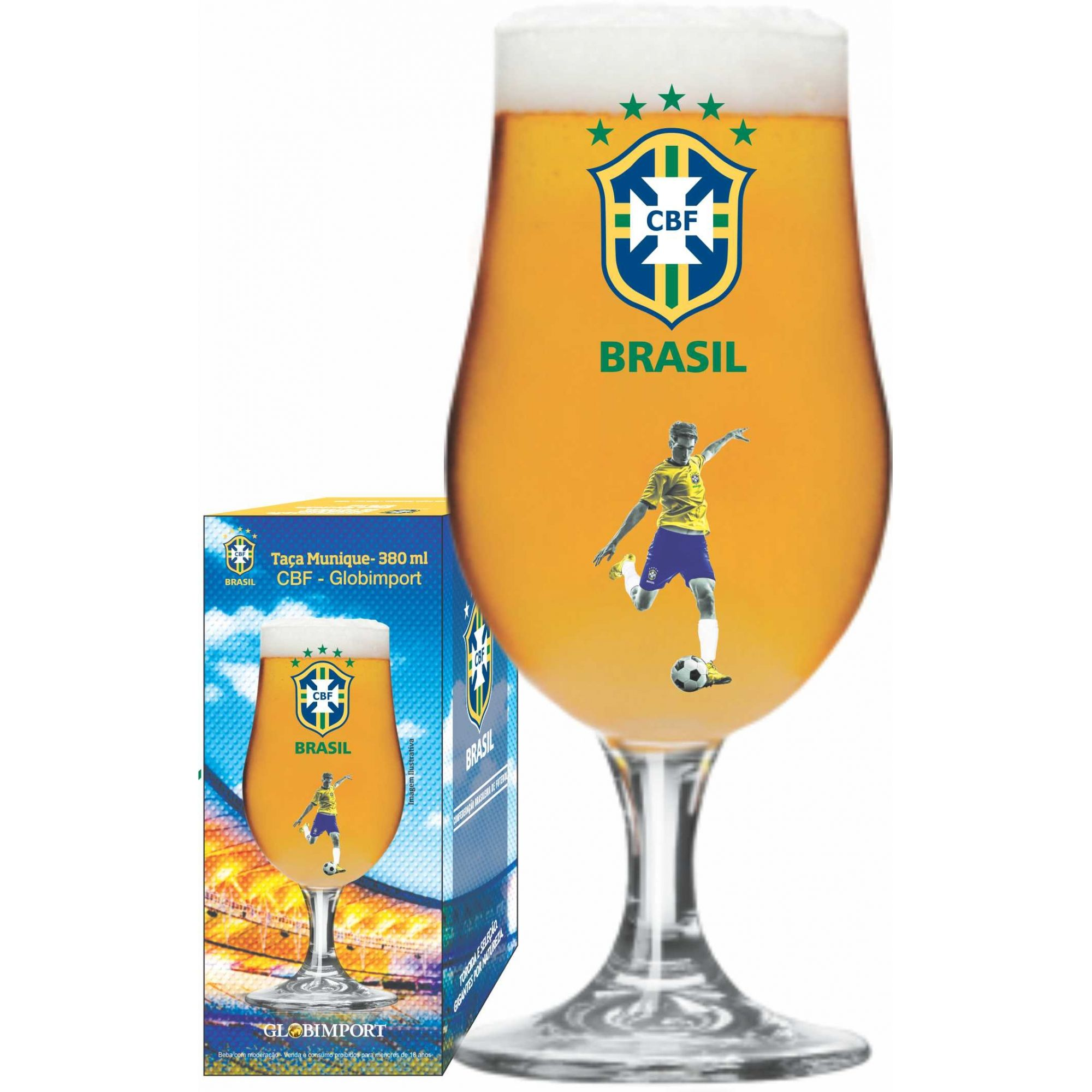 Taça Munique CBF Jogador - 380 ml