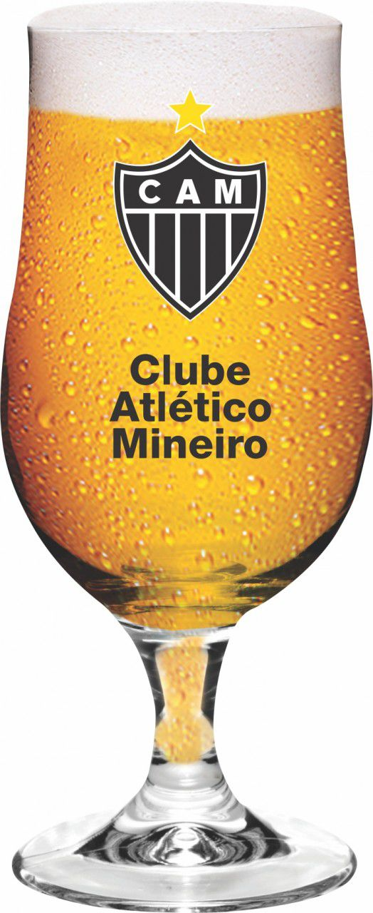 Taça Munique Atlético Brasão - 380 ml