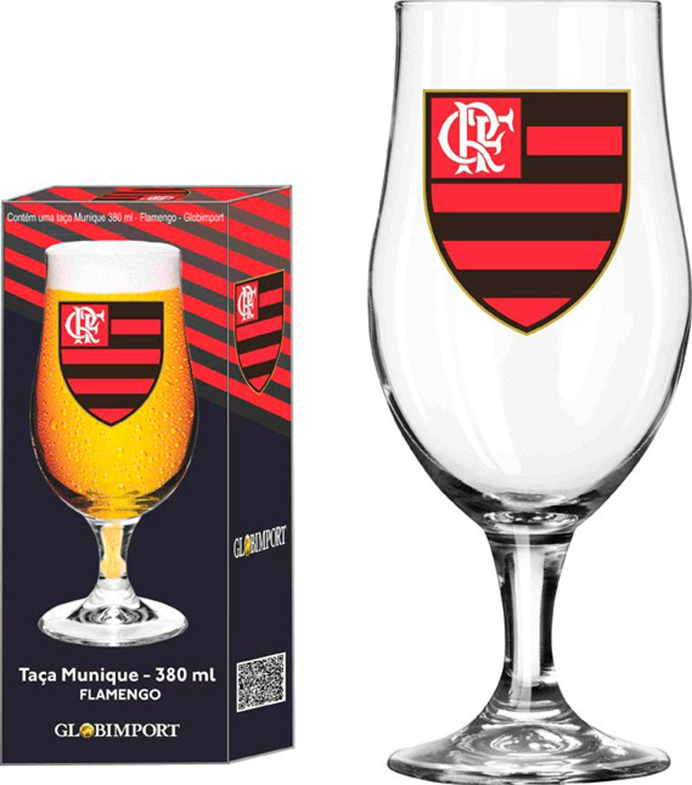 Taça Munique Flamengo Logo - 380 ml