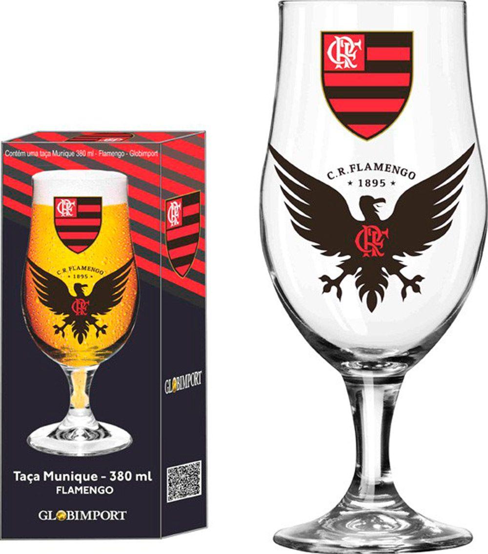 Taça Munique Flamengo Urubu - 380 ml