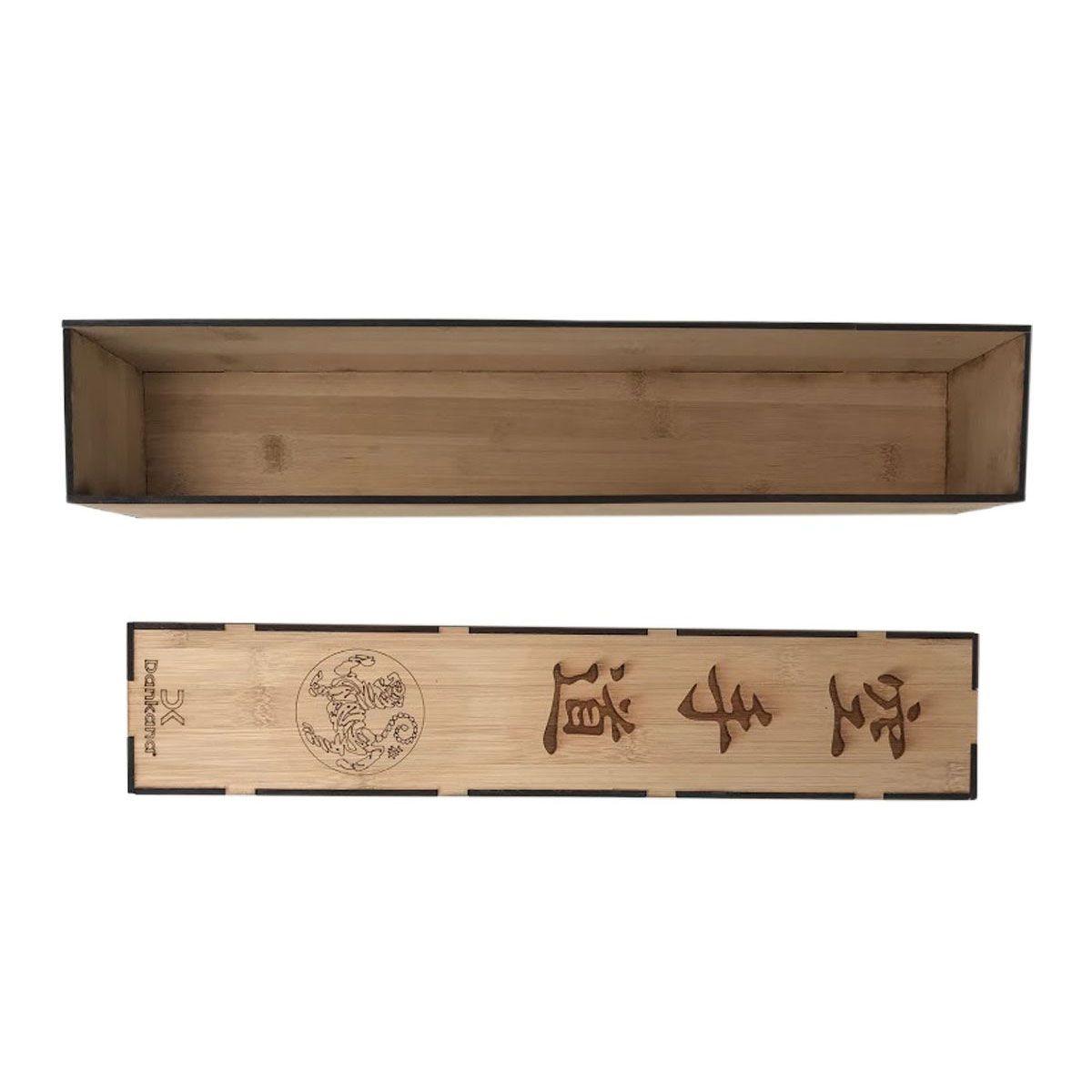 Caixa de Bambu Personalizada para Faixa
