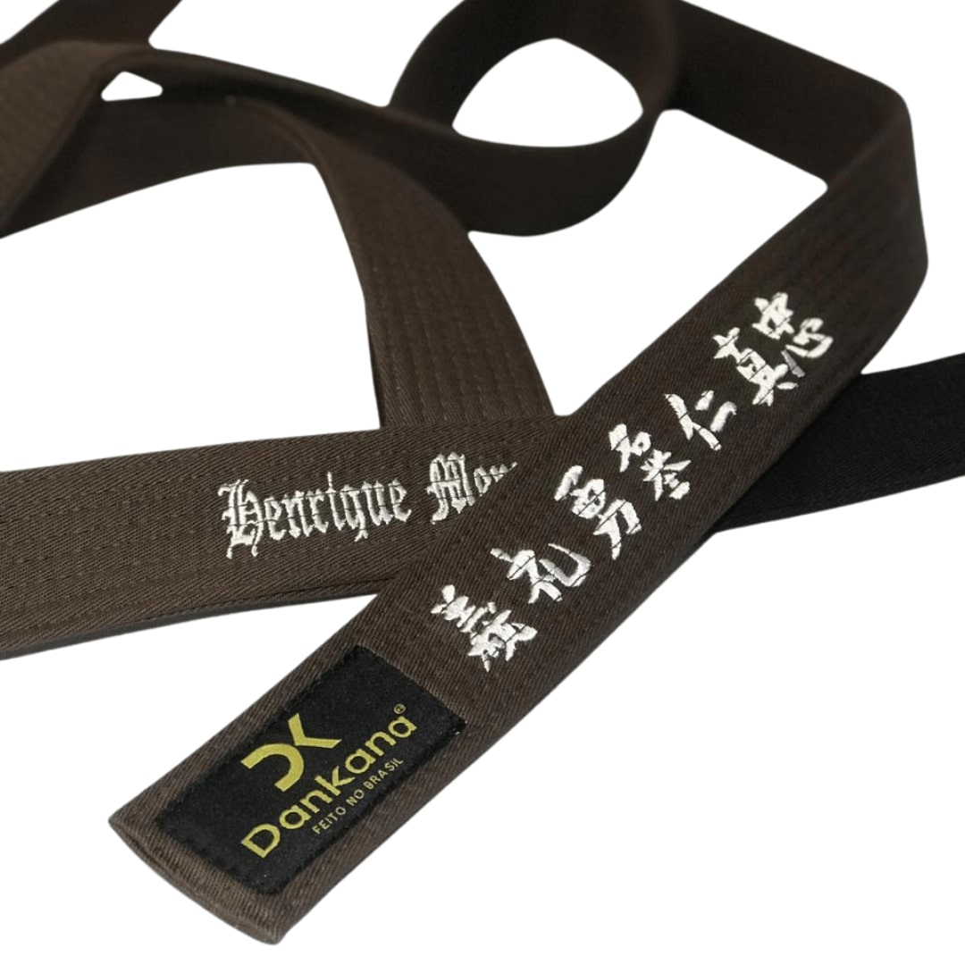 Faixa de Jiu-Jitsu Bordada