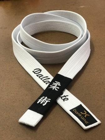 Faixa Especial de Jiu-Jitsu Personalizada