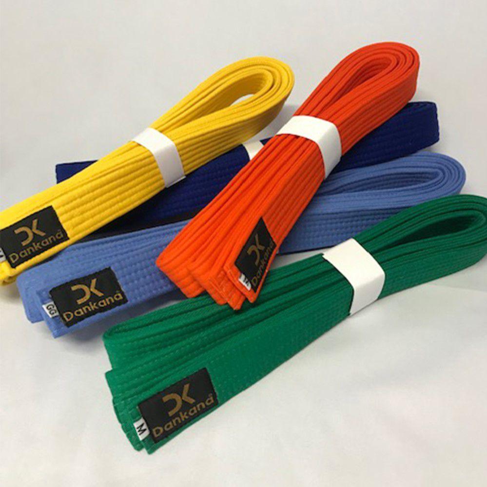 Faixa Karate Algodão Simples Colorida