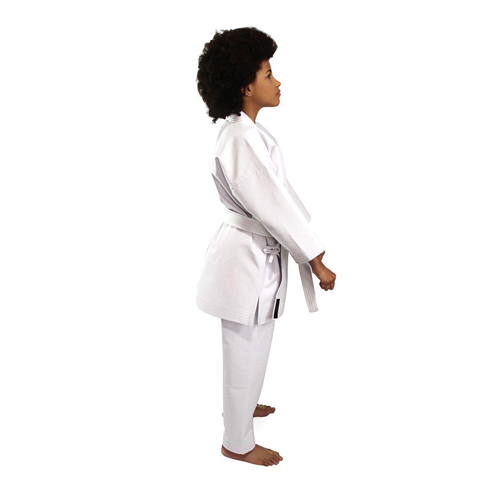 Kimono Tradicional Lona Média K10 Infantil