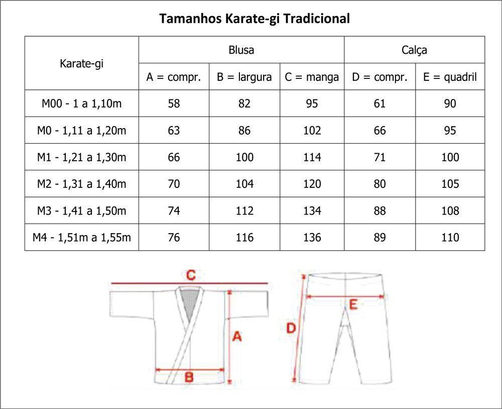 Kimono Tradicional  Canelado Infantil