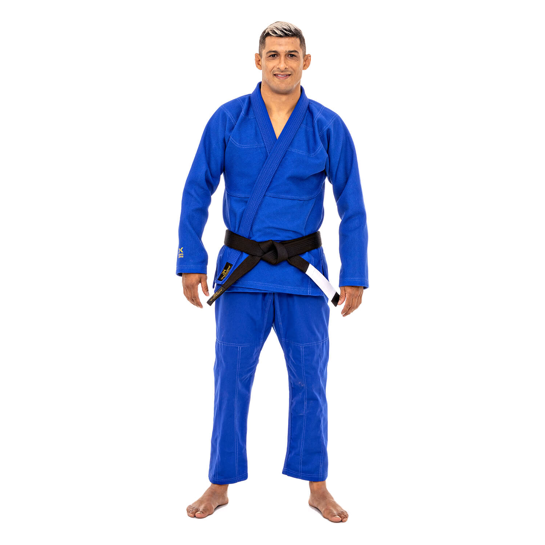 Kimono Trançado Médio Azul