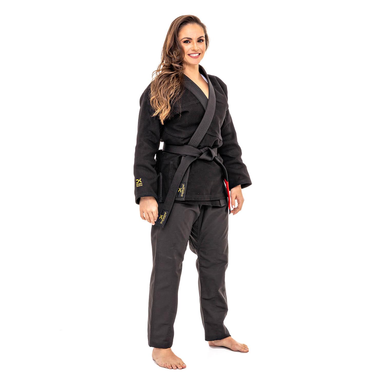 Kimono Trançado Médio Preto