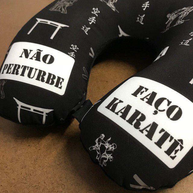 Kit viagem NÃO PERTURBE/ FAÇO KARATE
