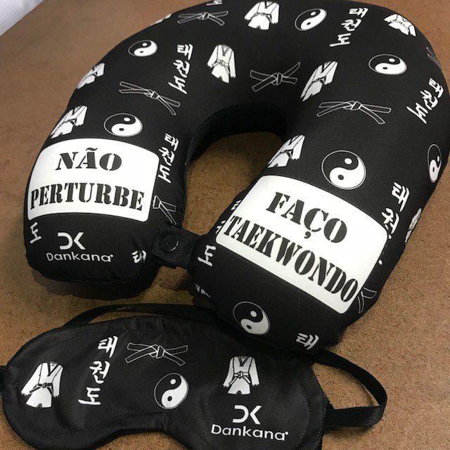 Kit viagem NÃO PERTURBE/ FAÇO  TAEKWONDO