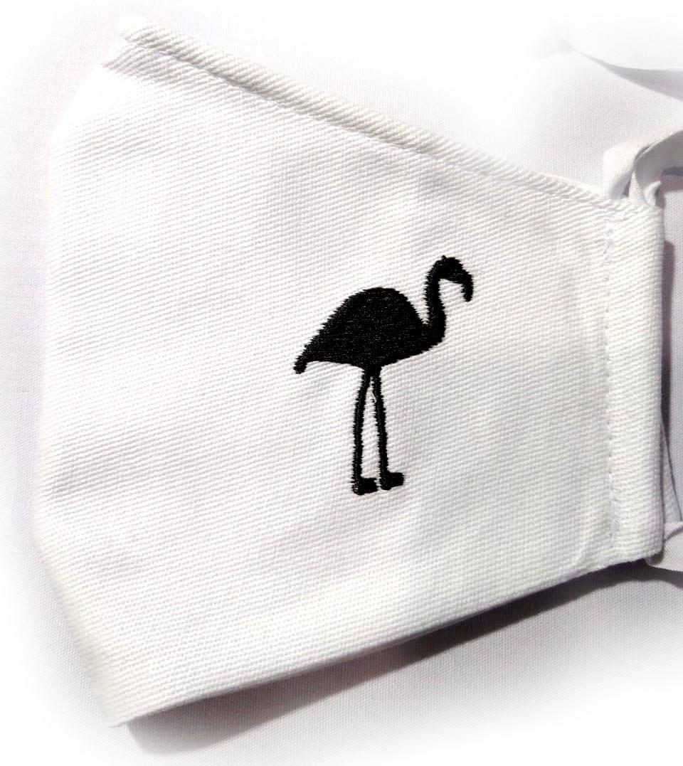 Máscara Bordada Aves do Brasil (Unidade)