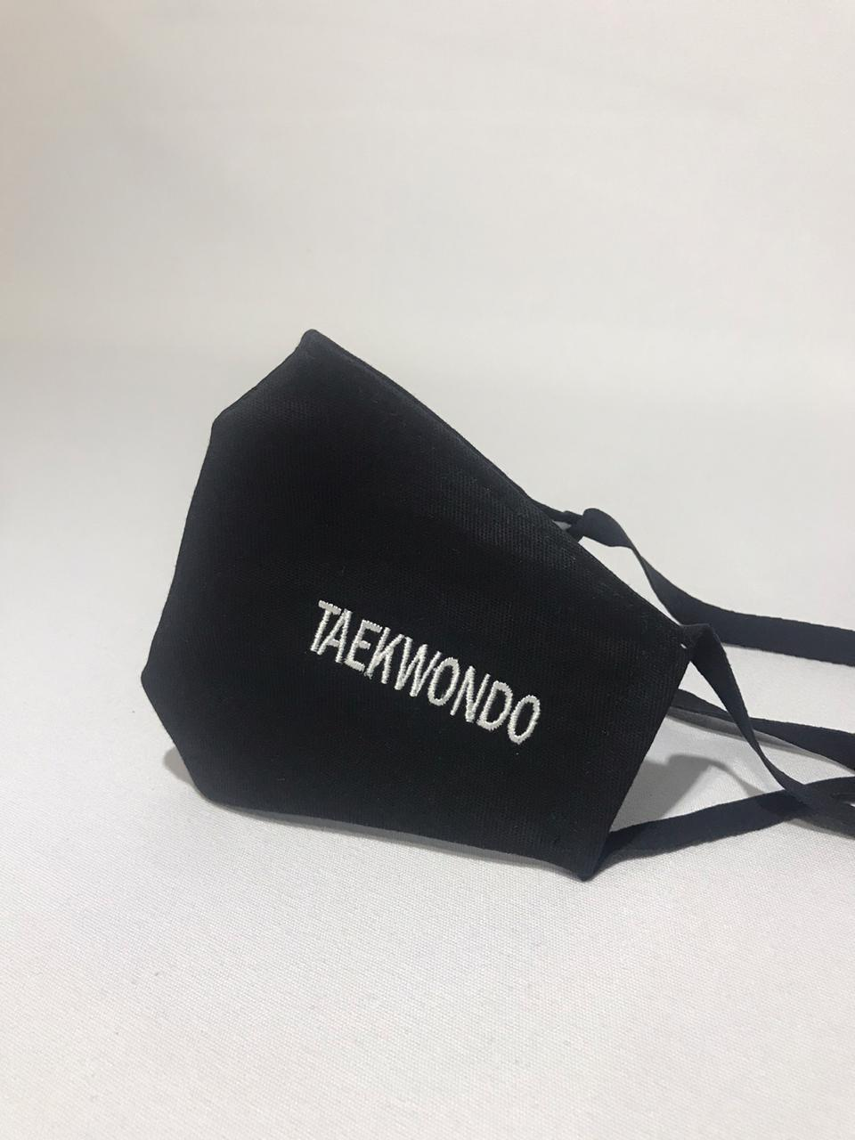 Máscara Bordada Taekwondo
