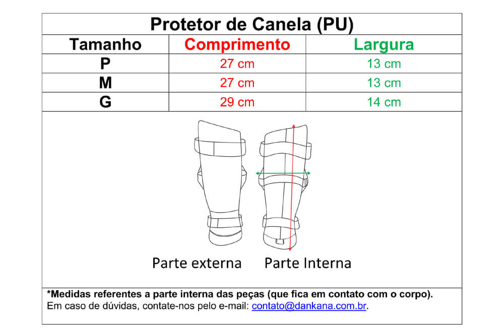 Protetor de Canela e Pé Olímpico - Homologado pela CBK