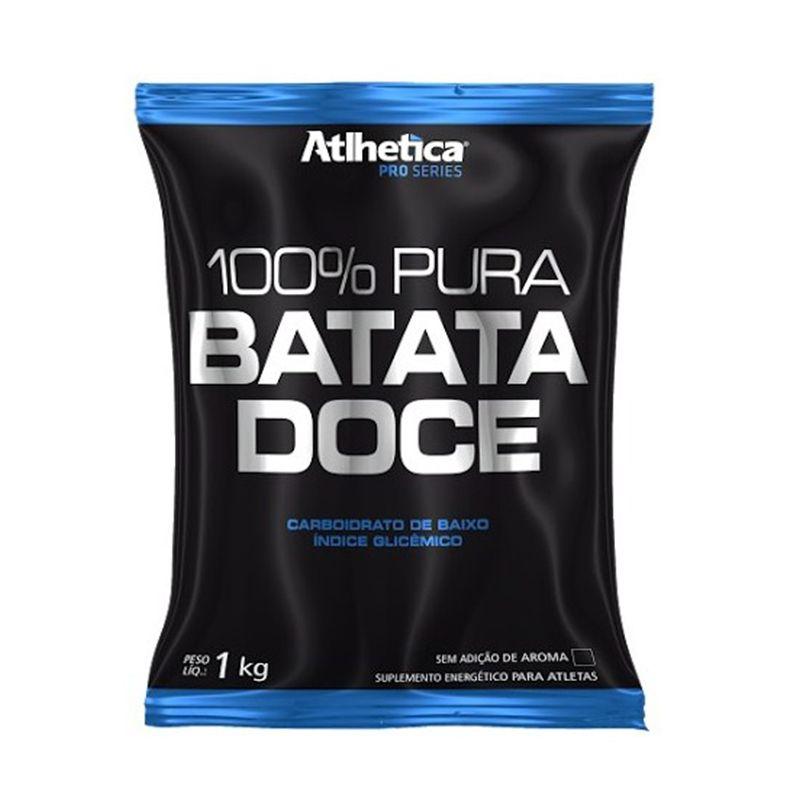 100% Pura Batata Doce Refil Atlhetica 1 Kg Natural