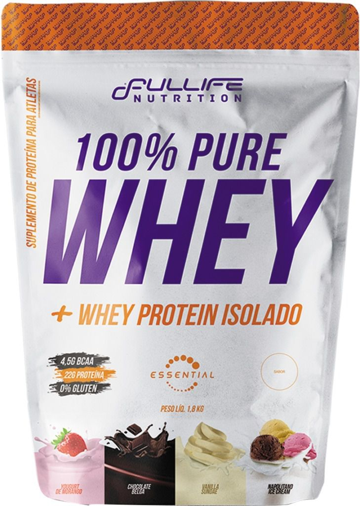 100% Pure Whey 1,8Kg Full Life