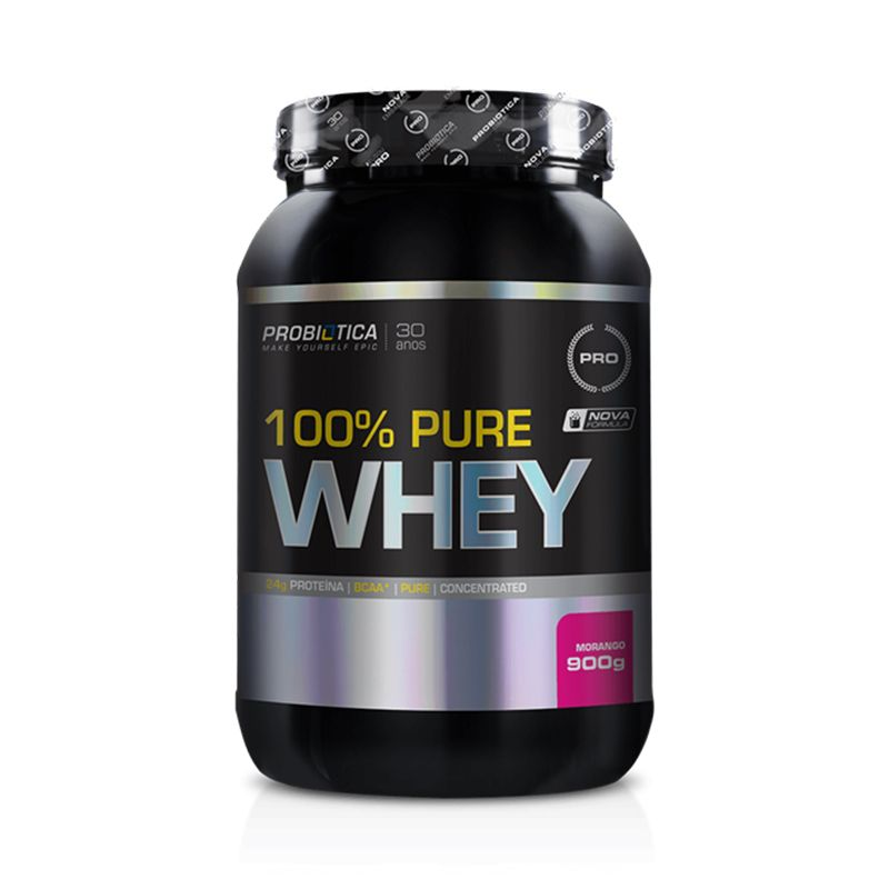 100% Pure Whey Probiótica 900 G