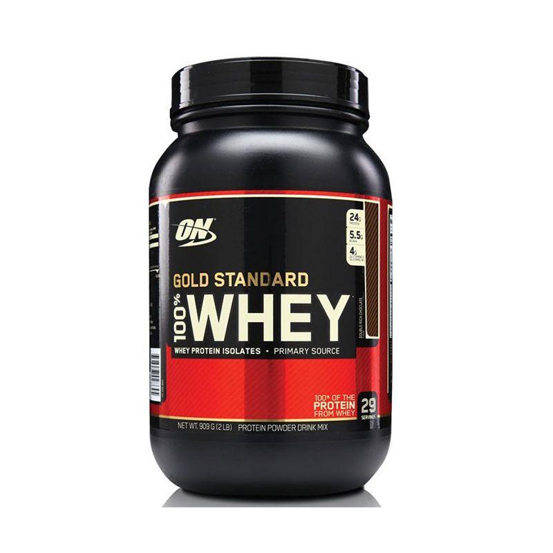 100% Whey Gold Standard  Optimum Nutrition 900 G