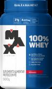 100% Whey Protein Max Titanium 900 G