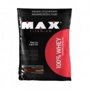 100% Whey Protein Refil Max Titanium 2 Kg