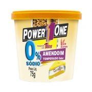 Amendoim Temperado Power One 75 G