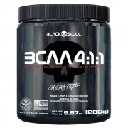 BCAA 4:1:1 Hardcore Branched Chain Amino Powder Black Skull