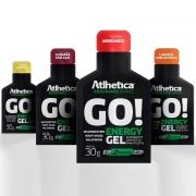 Go! Energy Gel (10 Sachês) Atlhetica 30 G