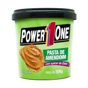 Pasta de Amendoim com Açúcar de Coco Power One 500 G
