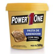 Pasta de Amendoim com Mel e Guaraná Power One 500 G