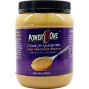 Pasta de Amendoim de Chocolate Branco Power One