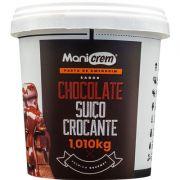 Pasta de amendoim Goumert Chocolate Suiço Crocante