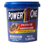 Pasta de Amendoim Integral Chocolate com Avelã Power One 1 Kg