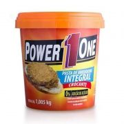 Pasta de Amendoim Integral Crocante Power One 1 Kg