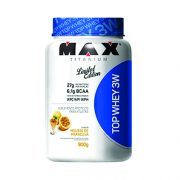 Top Whey 3W Limited Edition Max Titanium 900 g Mousse de Maracujá