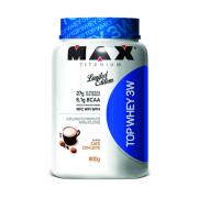 Top Whey 3W  Limited   Edition Max Titanium 900g Café com Leite