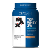 Top Whey 3W Mais Performance Max Titanium 900 G
