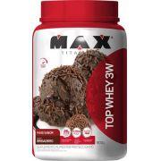 Top Whey 3W Mais  Sabor Max Titanium 900 G
