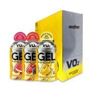VO2 Energy Gel Caffeine Integralmedica 10 Sachês de 30g Cada