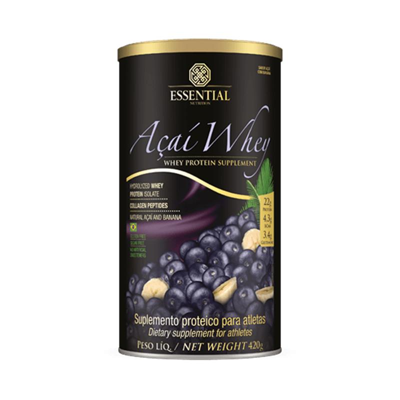 Açaí Whey Essential Nutrition 420 G Açaí / Banana