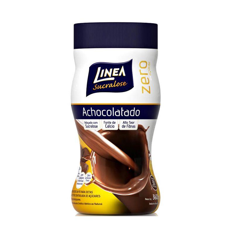 Achocolatado Zero Açúcar Linea 360 G