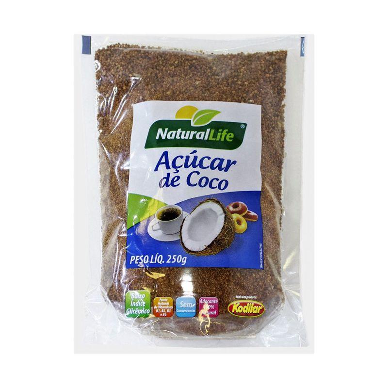 Açúcar de Coco Natural Life 250 G