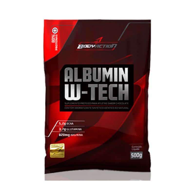 Albumin W-Tech Body Action 500 G